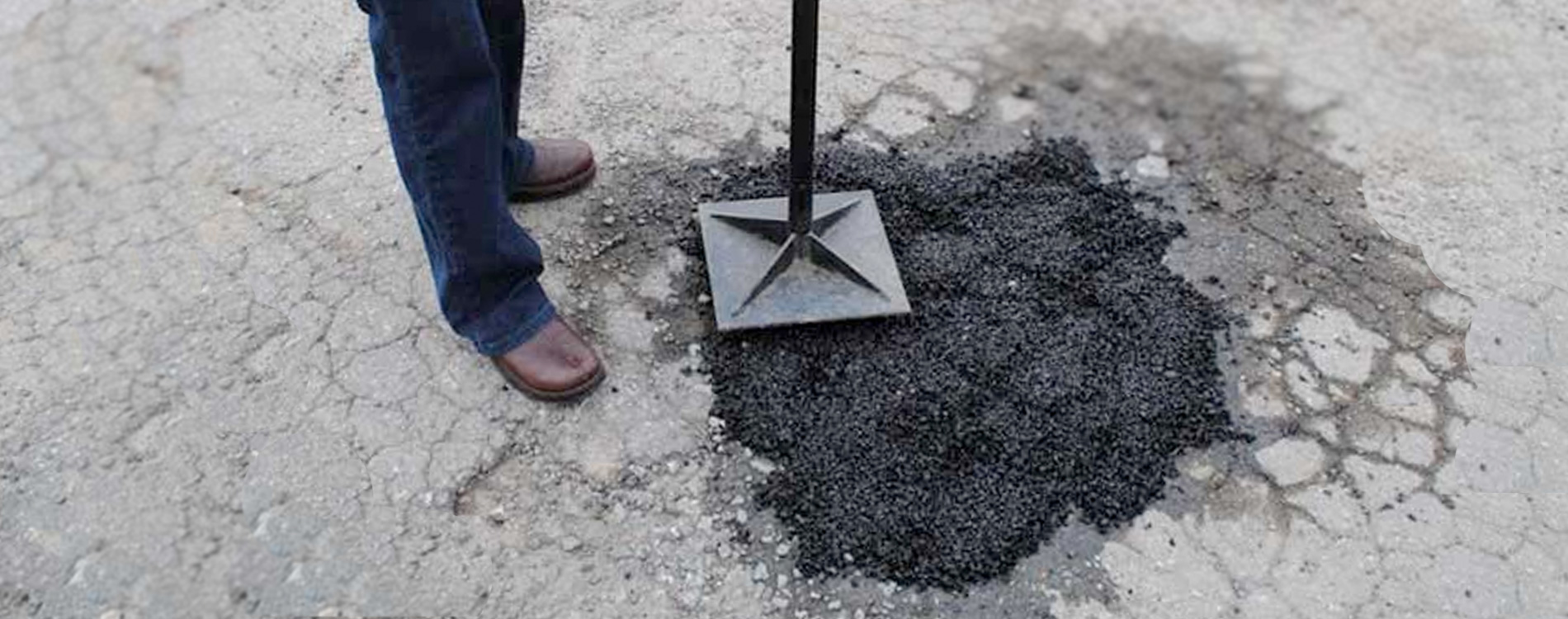 DIY Pothole Repair
