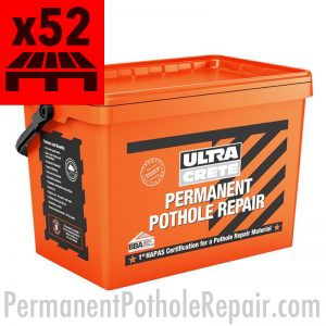 Permanent Pothole Repair Pallet of 52